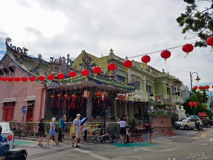 George Town Chinese Building