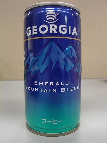 Georgia Coffee can (courtesy mdid at Flickr CC)