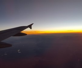 Take off to a better world and travel to fight narrow-mindedness (photo by Sheila Scarborough)