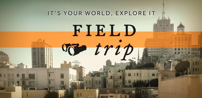 Google Field Trip logo in Android Play Store