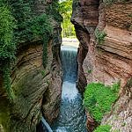 Gorge of Ponte Alto Upper Waterfall