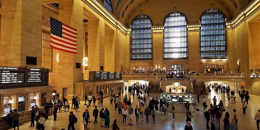 Grand Central Station in New York City is life itself (photo by Sheila Scarborough)