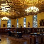 Afternoon in Waco Texas at the Hankamer Treasure Room at the Armstrong Browning Library and Museum (photo by Sheila Scarborough)