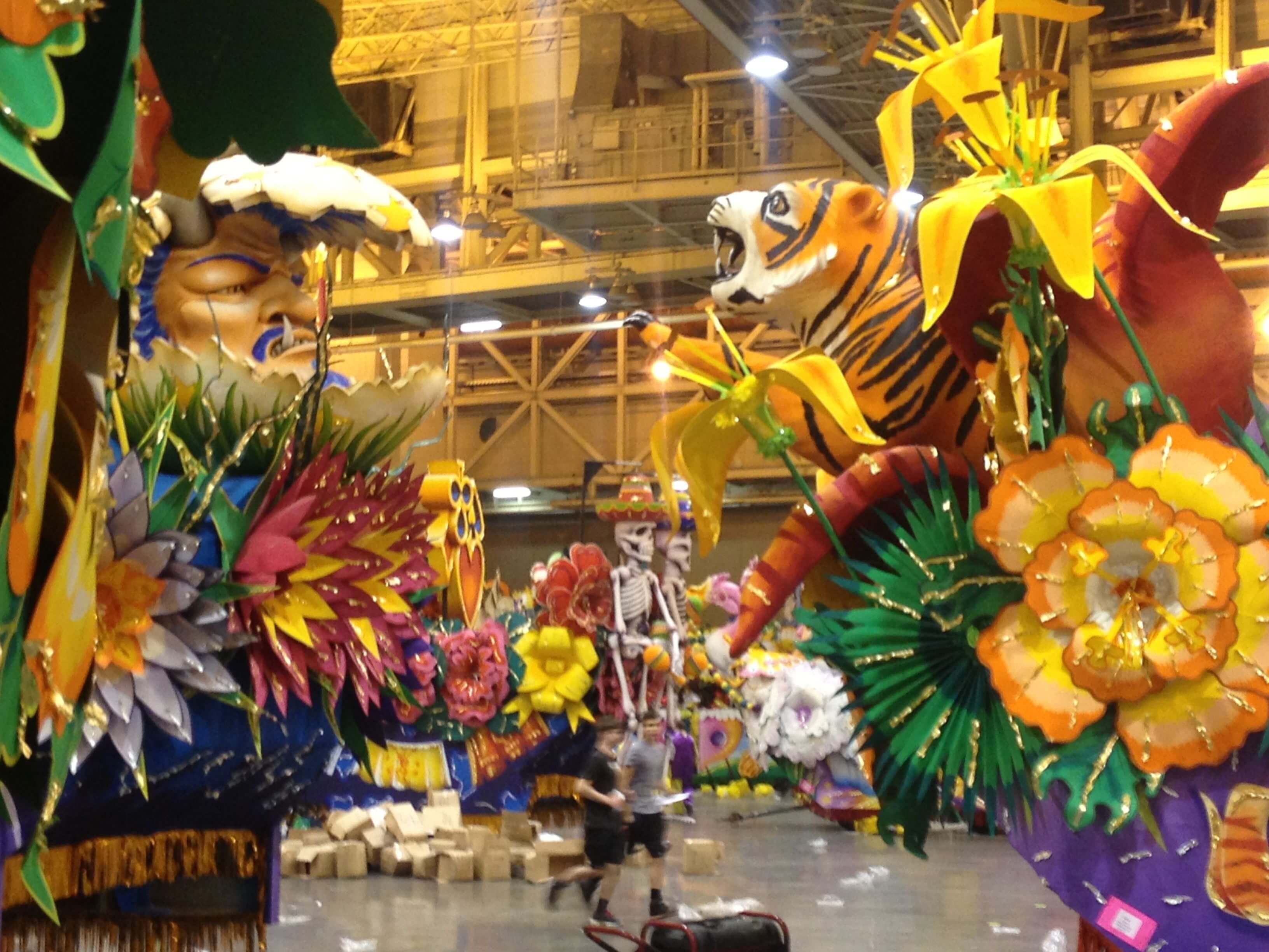 Krewe of Orpheus Floats
