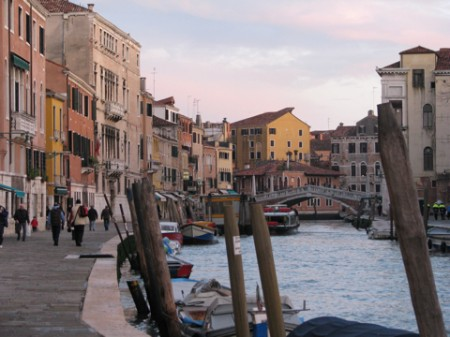 Venetian Street and Canal