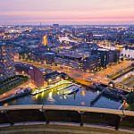 Instagrammable Spots in Rotterdam from Euromast