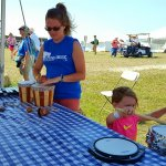 Instrument Petting Zoo at Symphony in the Flint Hills Kansas (photo by Sheila Scarborough)