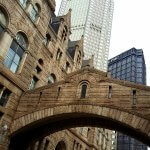 Italianate bridge connecting the Allegheny County Courthouse with the former jail building in Pittsburgh (photo by Sheila Scarborough)