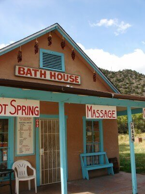 Jemez Springs Bath House, New Mexico (photo by Sheila Scarborough)