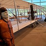LT Henry Hap Arnold College Park Aviation Museum College Park MD Maryland Milestones (photo by Sheila Scarborough)