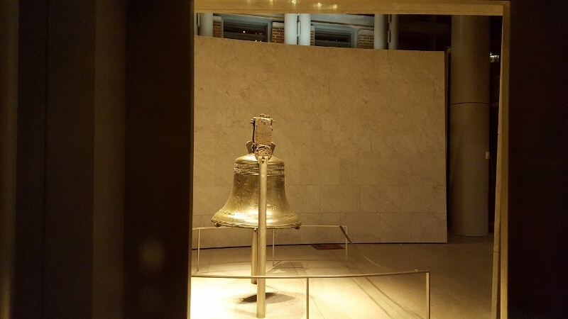 Liberty Bell in Philadelphia at night (photo by Sheila Scarborough)