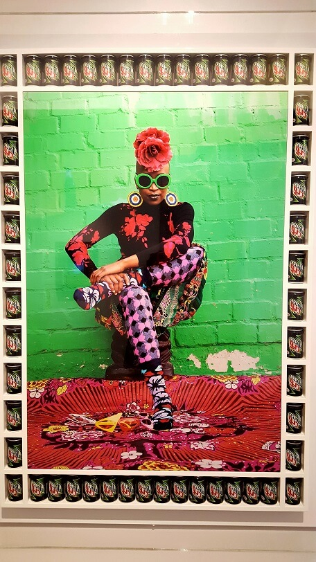 Lisa 2015 by Hassan Hajjaj at 21c Hotel Oklahoma City Pop Stars exhibit