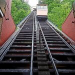 Walk around downtown Pittsburgh then look up the Monongahela Incline in Pittsburgh PA (photo by Sheila Scarborough)