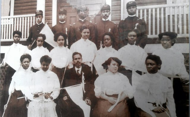 Faces of courage and hope: the Manassas Industrial School class of 1906, only 45 years after the Civil War's First Battle of Bull Run/First Manassas (courtesy Jennie Dean Memorial)