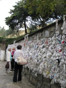 Prayer Wall at Mary's House, Ephesus