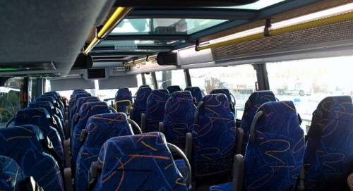 Megabus upper level (photo by Sheila Scarborough)