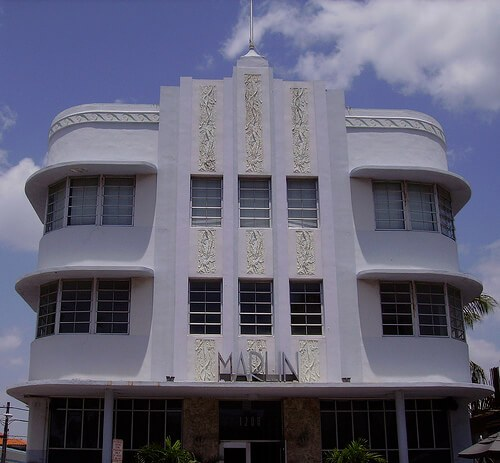 Miami Art Deco at the Marlin (courtesy KWDesigns on Flickr)