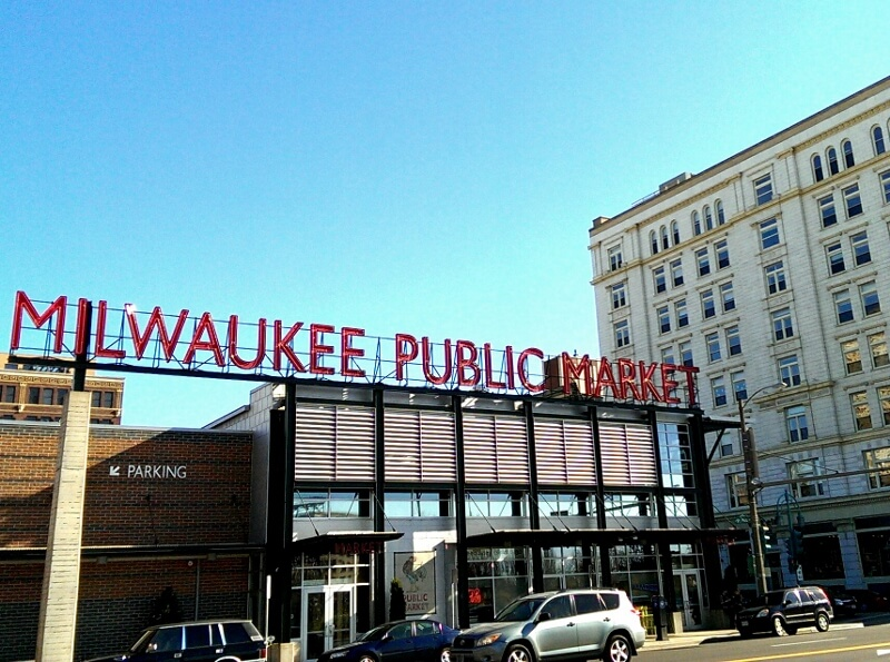 Milwaukee Public Market in the Historic Third Ward downtown (photo by Sheila Scarborough)