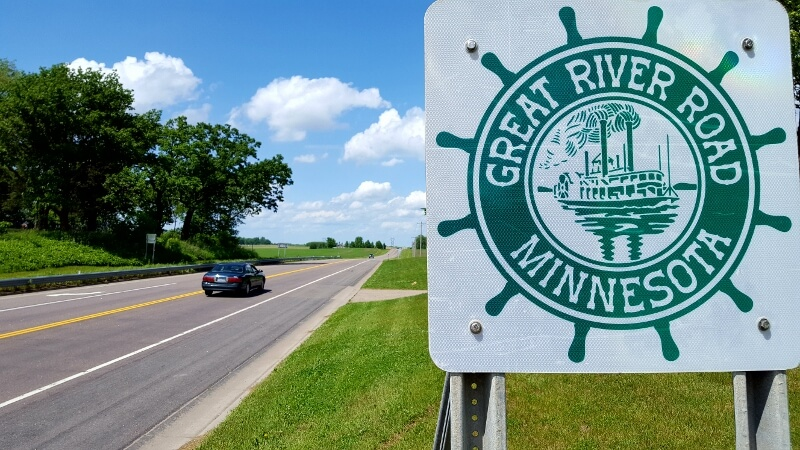 Minnesota's Great River Road can lead you to lovely towns like Red Wing MN (photo by Sheila Scarborough)