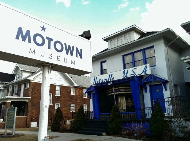 Motown Museum in Detroit, Michigan where it all began (photo by Sheila Scarborough)
