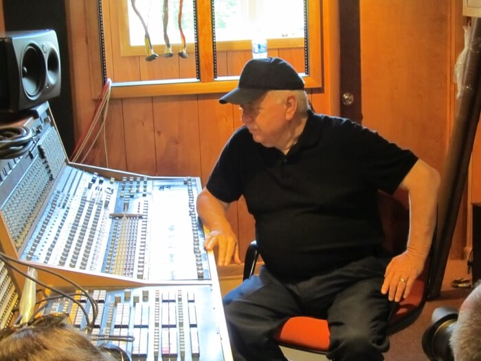 Jimmy Johnson of The Swampers in the Muscle Shoals Sound Studios in Alabama
