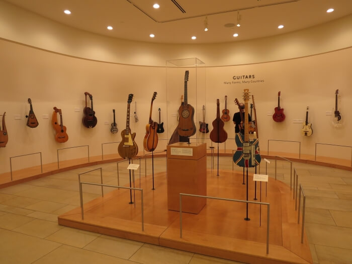 The Guitar Gallery at the Musical Instrument Museum in Phoenix