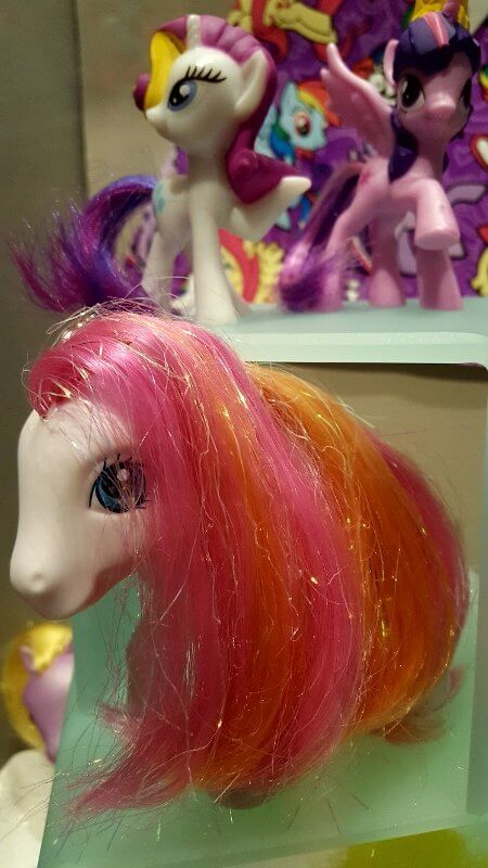 My Little Pony display at Toy & Action Figure Museum Pauls Valley Oklahoma (photo by Sheila Scarborough)