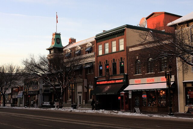 Old Strathcona neighborhood in Edmonton, Alberta, Canada (courtesy TravelingOtter on Flickr CC)