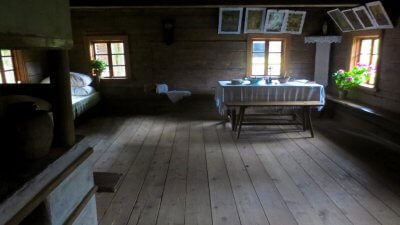 Open Air Museum Dwelling Interior #1