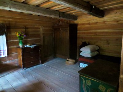 Open Air Museum Dwelling Interior #2