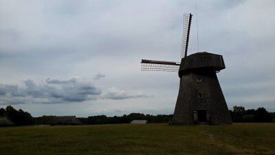 Open Air Museum Wind Mill