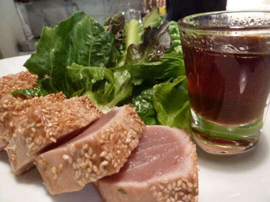 Pla Dib Seared Tuna