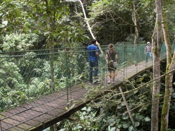 Bridge in Copan, Honduras