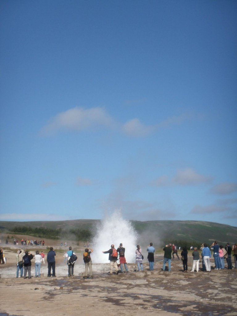 Photo of Strukkor geyser in Iceland