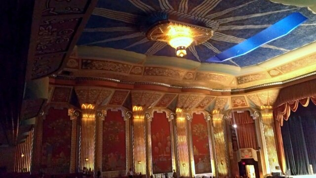 Interior of the Paramount Theatre in Aurora IL near Chicago (photo by Sheila Scarborough)