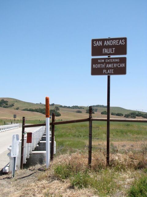 Parkfield San Andreas Fault