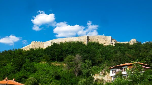 Prizren Fortress from Below