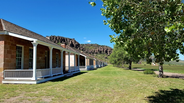 Quarters at Fort Davis National Historic Site in west Texas (photo by Sheila Scarborough)