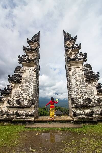 Offbeat Bali: 5 Unusual things to do in Bali. This is Lempuyang Temple in Bali, Indonesia, one of the most sacred temples on the island. Click through to find out how to see this for yourself.