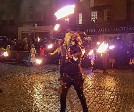 Samhuinn Halloween Festival in Edinburgh