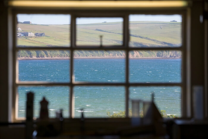 View of Scapa Flow from the Scapa Distillery