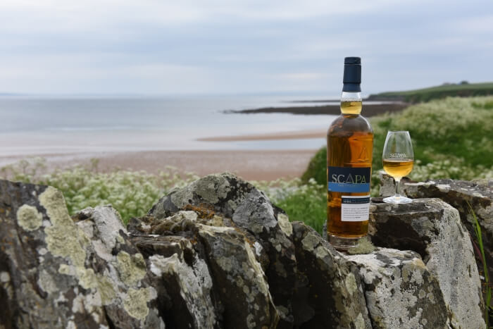The Scapa whisky distillery on Orkney in Scotland