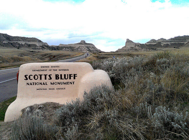 Scotts Bluff National Monument western Nebraska (photo by Sheila Scarborough)