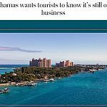 Bahamas want visitors after hurricane screenshot of Washington Post story about Bahamas tourism after Dorian