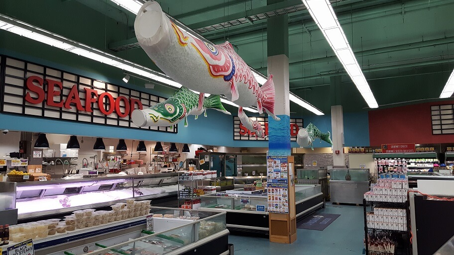 Asian grocery store in seattle