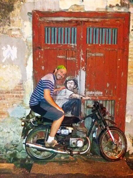 Selfie with Penang Street Art