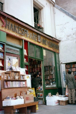 Shakespeare and Company Bookstore, Paris (photo by Sheila Scarborough)