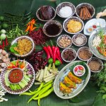 Siam Wisdom Food Display (Living in Thailand)