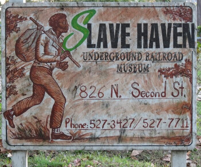 The Slave Haven and Underground Railroad Museum in Memphis