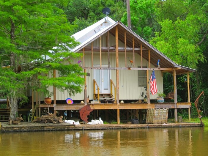 Home in the swamp, on a Cajun Encounters Louisiana Swamp Tour